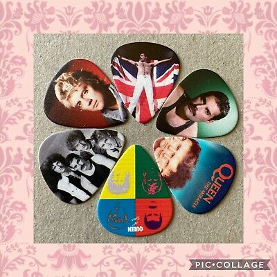 $ CDN8.05 • Buy 🎸 Lot Of 6 Queen Limited Edition 🎸 Guitar Picks Brand New 🎸#242