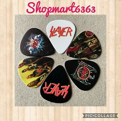$ CDN8.05 • Buy 🎸 Lot Of 6 SLAYER Limited Edition 🎸 Guitar Picks Brand New 🎸#247