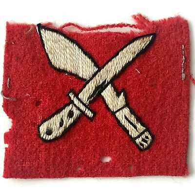 £27.99 • Buy WW2 18th Infantry Brigade Division British Cloth Formation Sign Patch Badge UE14
