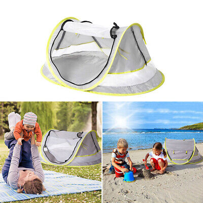 AU27.89 • Buy Baby Sun Tent Beach Shade Shelter Anti Outdoor Portable Pop Up Travel For Kids