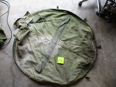 $75 • Buy Used Canvas Cover For M66 Ring Mount, Needs Minor Repair