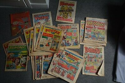 31 X 1970's Comics - Buster & Cor, Dandy, Whoopee!, Whizzer & Chips, Warlord Etc • 6£