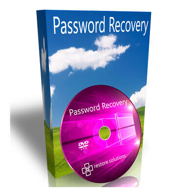 Windows 7 Lost Forgot Password Recover Recovery Remove Change Unlock Hack DVD • 1.95£