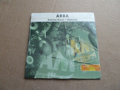 Abba - Dancing Queen / Waterloo - Usa Cd Single In A Card Sleeve - New & Sealed • 9.99£