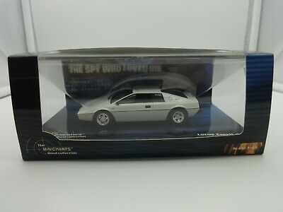 $ CDN84.35 • Buy Minichamps 1:43 James Bond 007  The Spy Who Loved Me  Lotus Esprit S1 - MIB