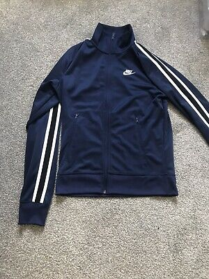 Men's Nike Full Zip Track Top Navy Size Extra Small • 10£