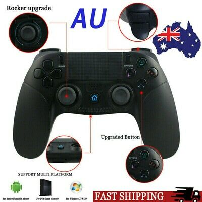 AU42.58 • Buy Dual Shock Wireless Bluetooth Controller Game Remote Gamepad For PS4/S3 Android