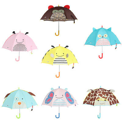 AU14.30 • Buy Lovely Cartoon 3D Animal Children Umbrella For Kids Students Cute Umbrella