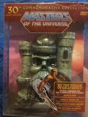 $47 • Buy Masters Of The Universe: 30th Anniversary Commemorative Collection (DVD, 2012, …