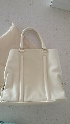 AU56 • Buy Oroton Large Leather Bag Cream Brand New Never Used With Oroton Bag
