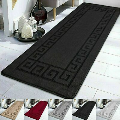 Large Non Slip Area Rugs Bedroom Kitchen Hallway Runners Floor Door Mat Washable • 8.99£