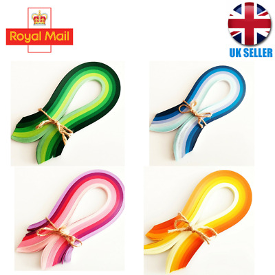 £3.79 • Buy 5mm DIY 200 Quilling Paper Strips Craft Quality *UK SELLER* Christmas Decor Kit