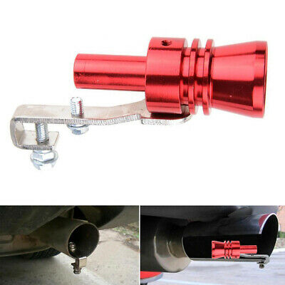 Accessories Blow Off Valve Noise Turbo Sound Whistle Simulator Muffler Tip Car • 6.99£
