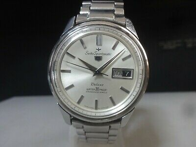 $ CDN74.71 • Buy Vintage 1964 SEIKO Automatic Watch [Seiko Sportsmatic 5 Deluxe] 23J Original
