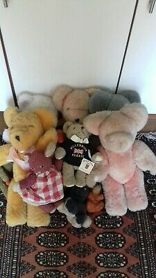Large Collection  Of Vintage Teddy Bears • 0.99£