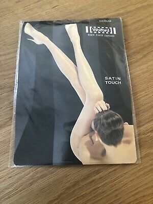 Wolford Satin Touch Tights. Size Medium. Coca Brand New • 5£