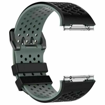 $ CDN7.24 • Buy For Fitbit Ionic Watch Replacement Silicone Wrist Band Strap Bracelet Watchband