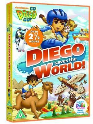 Go Diego Go: Diego Saves The World [DVD], Good DVD, , • 2.87£