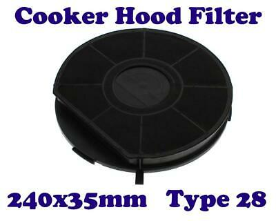 £10.50 • Buy WHIRLPOOL Cooker Hood Extractor Charcoal Carbon Filter Type 28