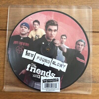 """New Found Glory - My Friends Over You 7"""" Picture Disc Vinyl Blink 182 • 16.95£"""