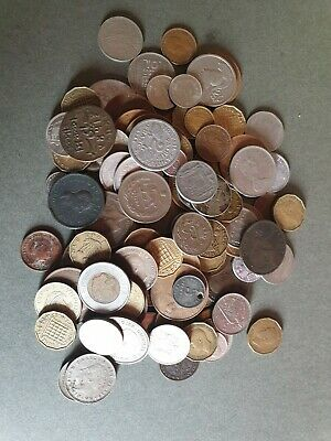 World Coin Job Lot (approx. 100) Uk And Foreign  • 0.99£