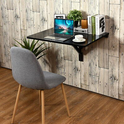 £39.99 • Buy Wooden Folding Wall-mounted Drop-leaf Computer Table Kitchen Desk  Dining Table