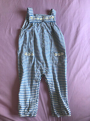 Pretty Daisy Boden Dungarees. Used. Girls. 12-18 Months • 5.80£