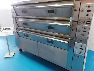 Tom Chandley 24 Tray Deck Oven, Mk4 Control- Stock No B045191 - Bakery Equipment • 7,000£