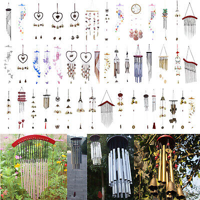 15 Tubes Outdoor Windchime Ornaments Garden Yard Living Wind Chimes Home Decor • 3.79£