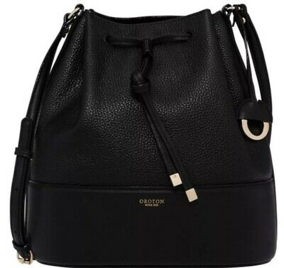AU199 • Buy Oroton Berkeley Bucket Bag Black, RRP $399.00 Brand New With Tags - AUTHENTIC