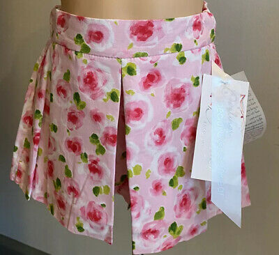 £6 • Buy Little Darlings Special Occasion Wear Baby 24 Months Pink Floral Skorts