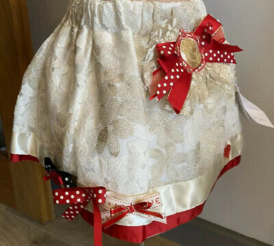 £19.99 • Buy Little Darlings Special Occasion Wear 24 Months Baby Girl Gold Skirt