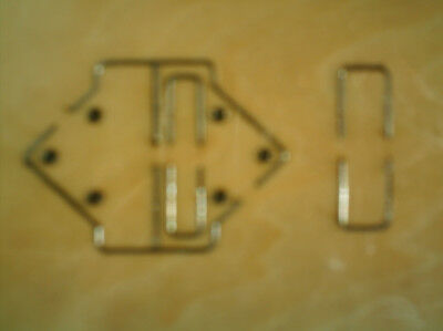 BOOK HINGES SET   * * Wooden Die Cutter  * * NEW & SEALED + FREE GIFTS • 7.50£