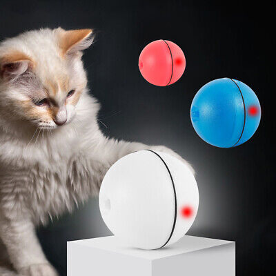 AU11.39 • Buy Cat Interactive Toys LED Laser Rolling Ball Dog Pet 360 Degree Self Rotating Toy