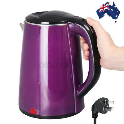 AU28.99 • Buy Electric Kettle Stainless Steel 1500W 2.5L Jug Kettle Fast Water Home Boiler