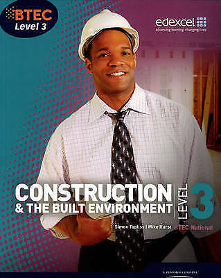 £45.70 • Buy BTEC Level 3 National Construction And The Built Environment Student Book (Level