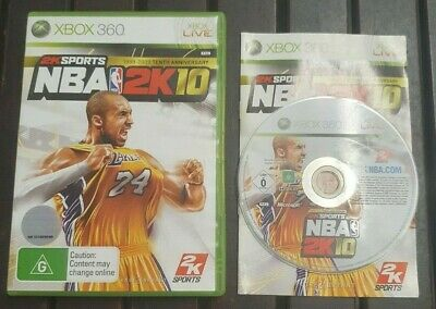 AU11.39 • Buy Nba 2k10 Aus Pal Xbox 360 *complete*