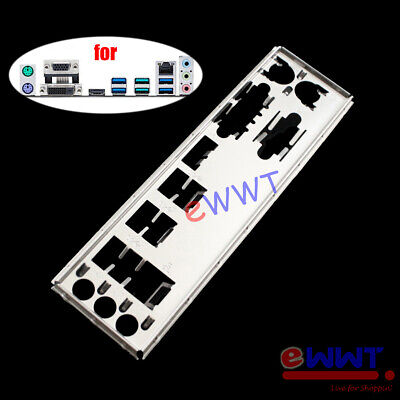 AU7.48 • Buy For Asus Prime B350M-A Motherboard IO Shield Back Panel Port Plate Cover SJOP219