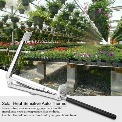 Automatic Greenhouse Window Kit Roof Vent Opener Autovent Solar Powered Fit • 17.99£