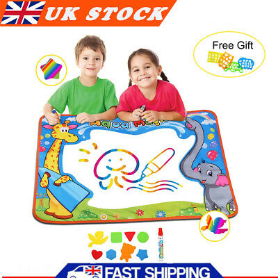 £11.99 • Buy Water Drawing Painting Writing Board Mat Magic Pen For Kids Children Toys Gift