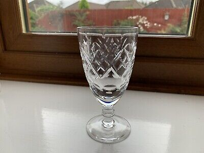 Four Royal Doulton Lead Crystal Wine Glasses In Excellent Condition • 9.75£