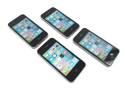$ CDN79.03 • Buy Lot Of  4 Apple IPhone 4s 16GB, 8GB Black A1387 2430 Clean ESN 100% Genuine