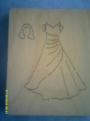 Prom Dress * Bridesmaid * Ball Gown * Hair Piece * Wooden Die Cutter +free Gifts • 14.99£