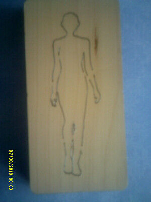 MODEL BODY * FASHION MANNEQUIN * CROSS-CUTS Retired Wooden Die Cutter +FREE GIFT • 14.99£
