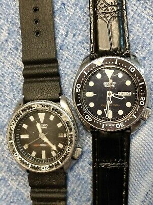 $ CDN737.33 • Buy Lot Of 2 Seiko Divers Watches 7548-700F 150m Quartz & 7002-7009 150m Automatic
