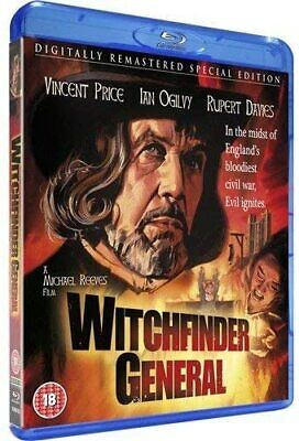 £18.41 • Buy Witchfinder General (1968) Vincent Price Blu-Ray BRAND NEW Free Ship