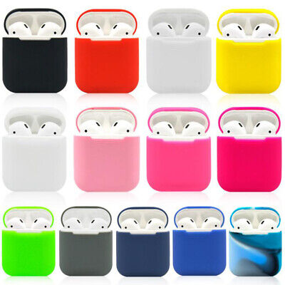$ CDN1.95 • Buy 1PC Silicone Shock Proof Protective Cover Case Skin For Apple AirPods Earphones