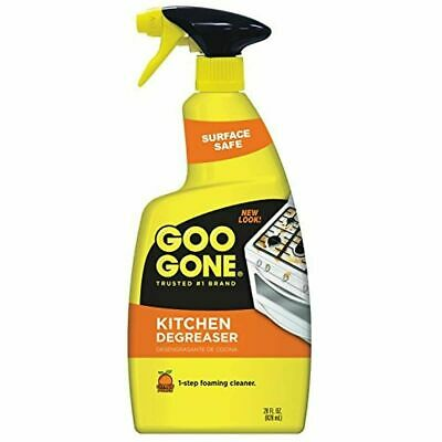 NIB New Goo Gone Kitchen Degreaser Spray 28 Oz - Removes Kitchen Grease Grime • 19.14£