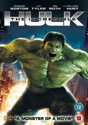 The Incredible Hulk [DVD], New, DVD, FREE & FAST Delivery • 9.45£