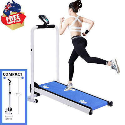AU237.99 • Buy Compact Design Folding Treadmill LED Display Fitness Home Machine Exercise Multi